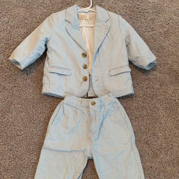Seersucker Suit for Little Boys
